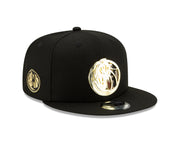 DALLAS MAVERICKS NEW ERA 950 METAL PATTERN SNAPBACK CAP