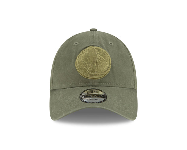 DALLAS MAVERICKS NEW ERA 9TWENTY OLIVE CORE CAP