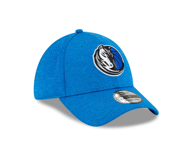 DALLAS MAVERICKS NEW ERA 39THIRTY SHADOW TECH HEATHER CAP