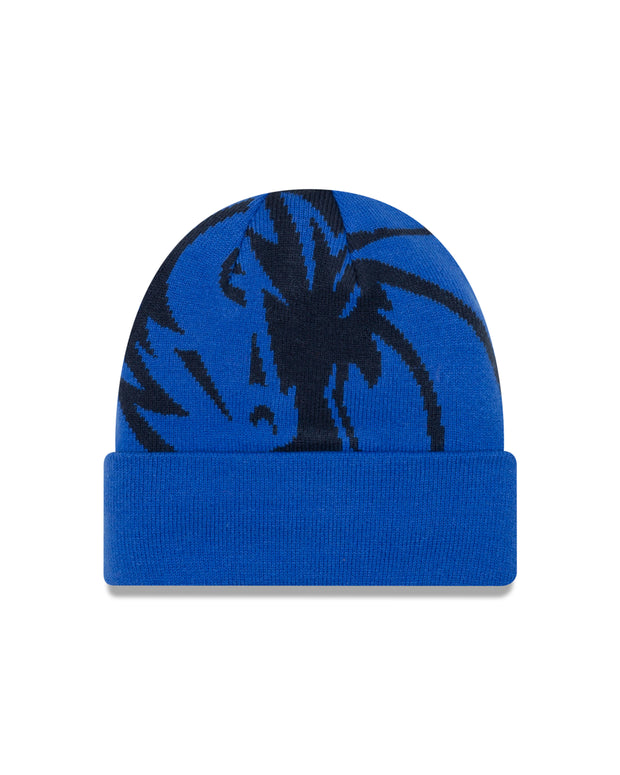 DALLAS MAVERICKS NEW ERA YOUTH WHIZ LOGO KNIT HAT