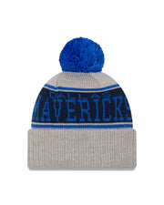 DALLAS MAVERICKS NEW ERA STRIPE POM KNIT HAT
