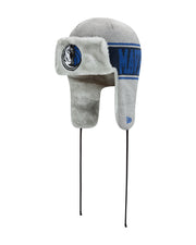 DALLAS MAVERICKS NEW ERA TRAPPER KNIT BOMBER