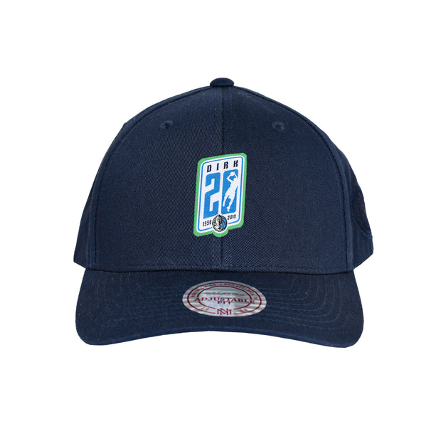 DALLAS MAVERICKS MITCHELL AND NESS DIRK 20 ADJUSTABLE CAP