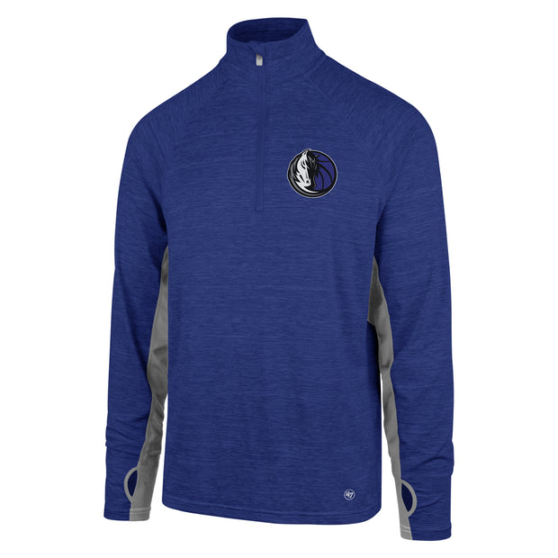 DALLAS MAVERICKS MENS OMNI 1/4 ZIP