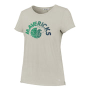 DALLAS MAVERICKS HWC WOMEN LETTER TEE