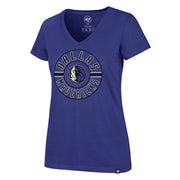 DALLAS MAVERICKS WOMENS FLIP RIVAL V TEE