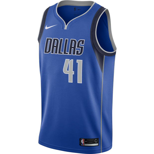 DALLAS MAVERICKS DIRK NOWITZKI NIKE ICON SWINGMAN JERSEY