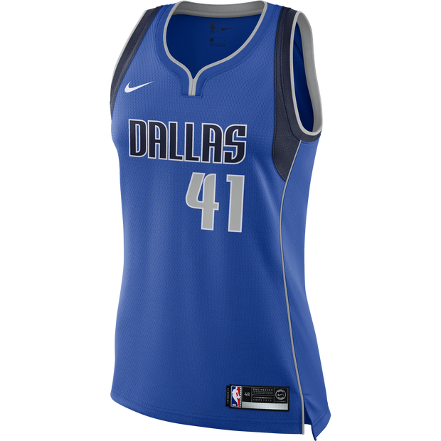 DALLAS MAVERICKS NIKE WOMENS DIRK NOWITZKI ICON SWINGMAN JERSEY