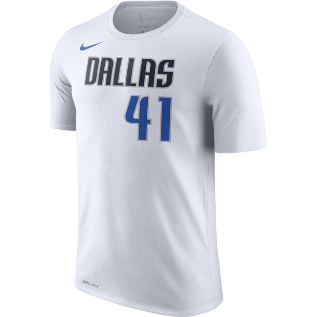 DALLAS MAVERICKS NIKE DIRK ASSOCIATION NAME & NUMBER S/S TEE