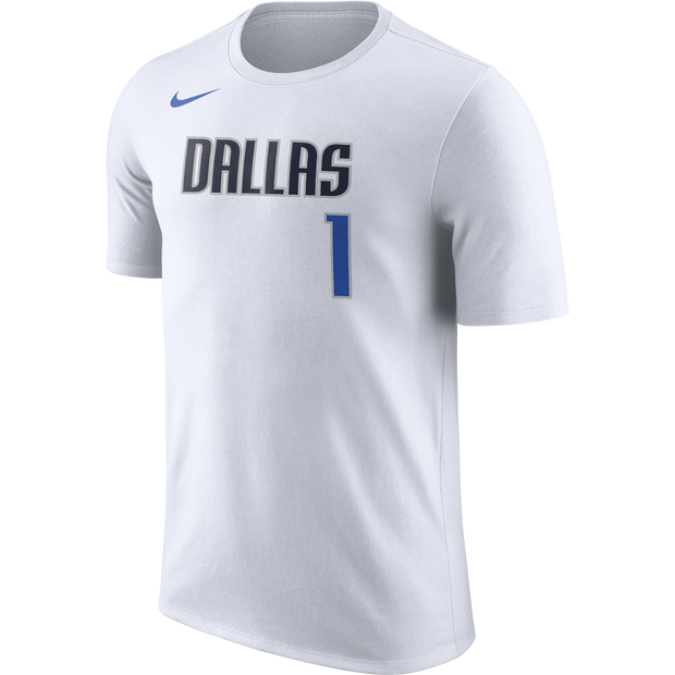 DALLAS MAVERICKS MENS NIKE DENNIS SMITH JR ASSOCIATION NAME AND NUMBER TEE