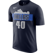 DALLAS MAVERICKS HARRISON BARNES SKYLINE NIKE NAME AND NUMBER TEE