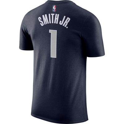 DALLAS MAVERICKS DENNIS SMITH JR SKYLINE S/S NAME & NUMBER TEE