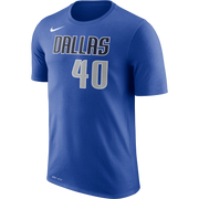 DALLAS MAVERICKS MENS NIKE HARRISON BARNES ICON NAME AND NUMBER TEE