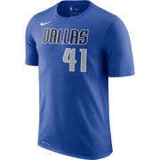 DALLAS MAVERICKS NIKE DIRK NOWITZKI ICON NAME & NUMBER S/S TEE