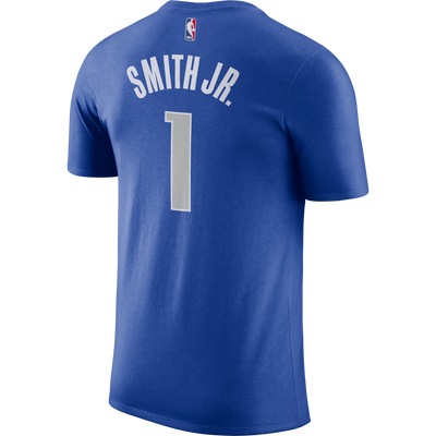 DALLAS MAVERICKS MENS NIKE DENNIS SMITH JR ICON NAME AND NUMBER TEE