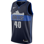 DALLAS MAVERICKS HARRISON BARNES NIKE STATEMENT SWINGMAN JERSEY
