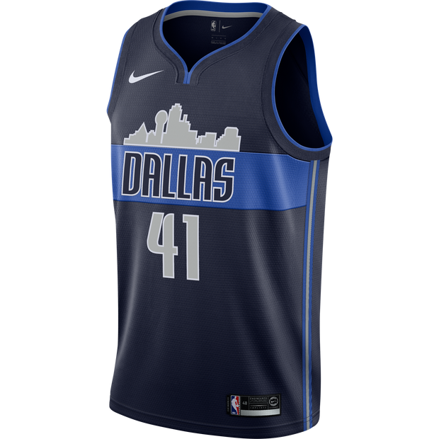 DALLAS MAVERICKS DIRK NOWITZKI NIKE STATEMENT SWINGMAN JERSEY