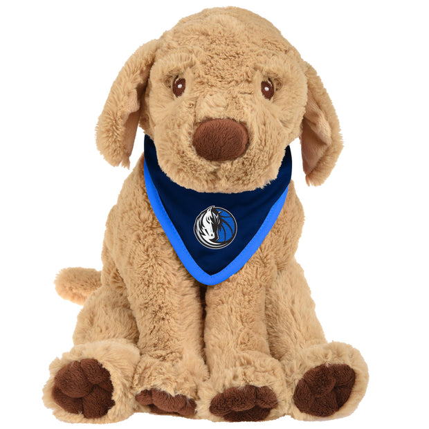 DALLAS MAVERICKS BANDANA PUPPY PLUSH