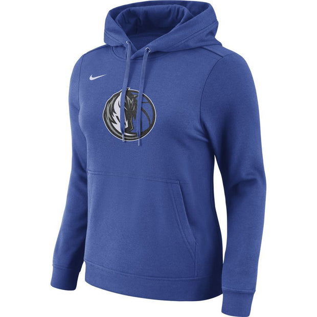 DALLAS MAVERICKS WOMEN NIKE LOGO CLUB HOODIE