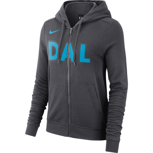 DALLAS MAVERICKS CITY EDITION 2018-2019 NIKE WOMEN DAL ZIP UP HOODIE