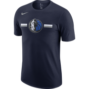 DALLAS MAVERICKS NIKE HORSE HEAD LOGO STRIPE S/S TEE