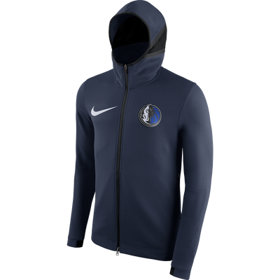 DALLAS MAVERICKS NIKE ON COURT SHOWTIME NAVY JACKET