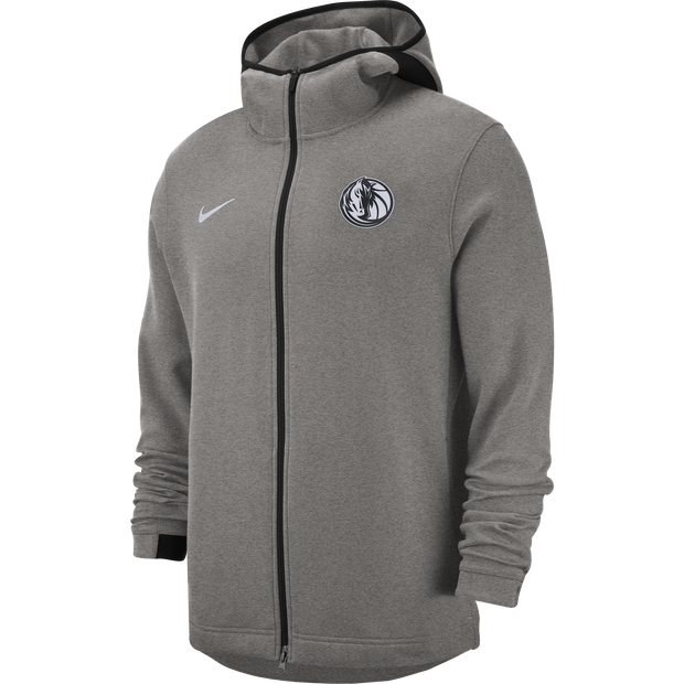 DALLAS MAVERICKS NIKE ON COURT DRY-FIT SHOWTIME GREY JACKET