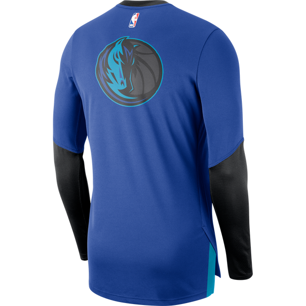 DALLAS MAVERICKS CITY EDITION 2018-2019 NIKE L/S SHOOTER