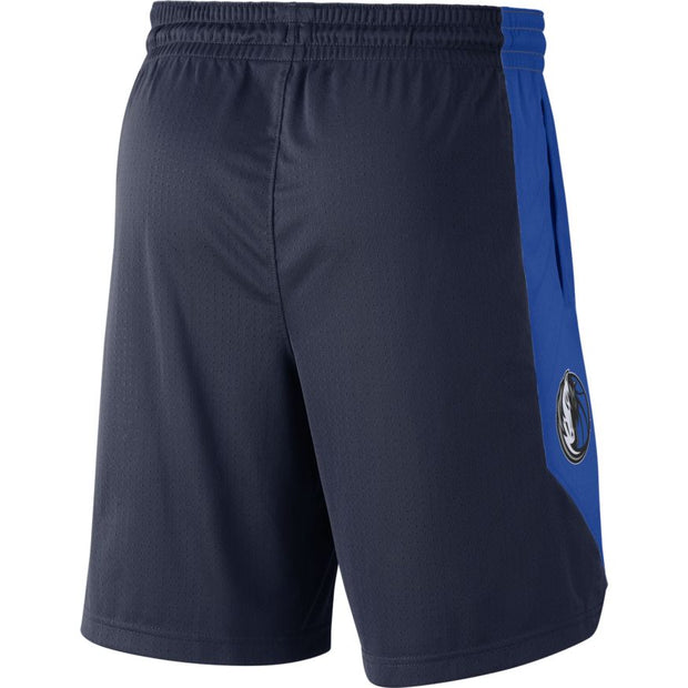 DALLAS MAVERICKS NIKE PRACTICE NAVY SHORT