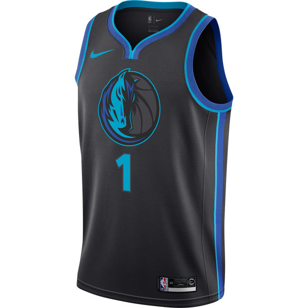 DALLAS MAVERICKS DSJ NIKE CITY EDITION 2018-2019 SWINGMAN JERSEY