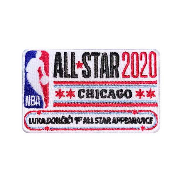 DALLAS MAVERICKS LUKA DONCIC FIRST NBA ALL-STAR APPEARANCE PATCH