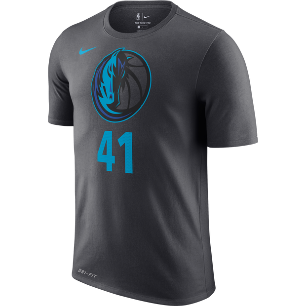 DALLAS MAVERICKS CITY EDITION 2018-2019 DIRK PLAYER TEE