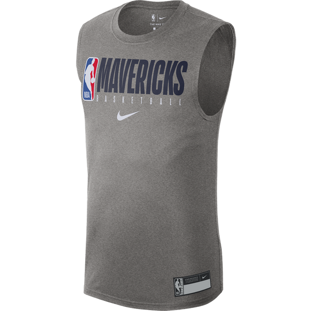 DALLAS MAVERICK NIKE PRACTICE SLEEVELESS TEE