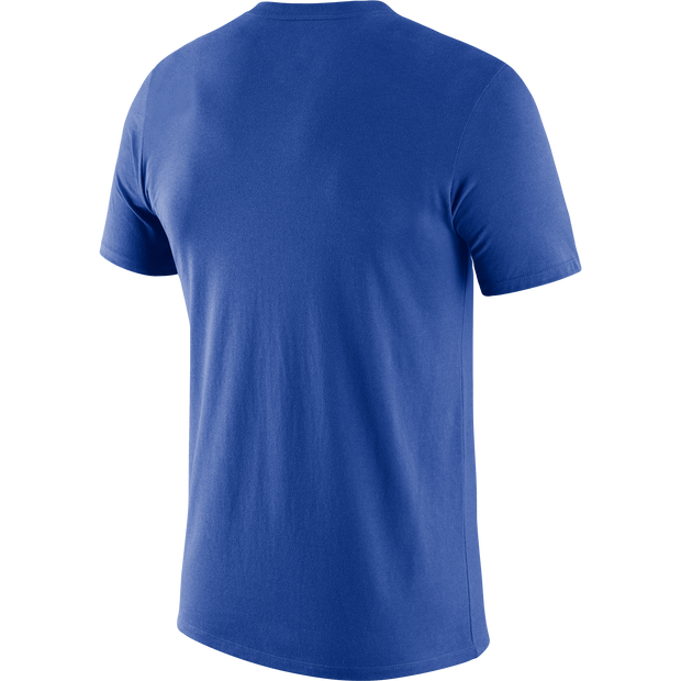 DALLAS MAVERICKS NIKE ROYAL PRACTICE TEE