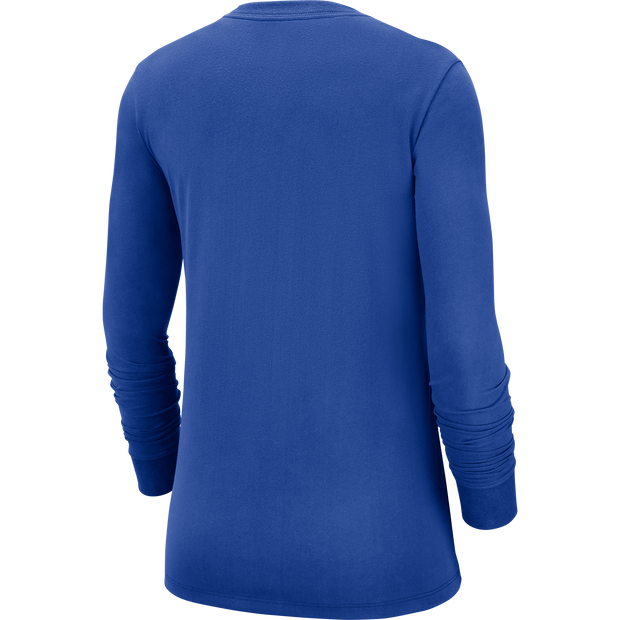 DALLAS MAVERICKS NIKE WOMENS WORDMARK LONG SLEEVE TEE