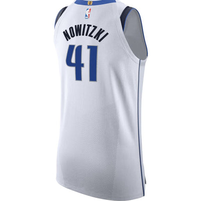 DALLAS MAVERICKS DIRK NOWITZKI AUTHENTIC ASSOCIATION JERSEY
