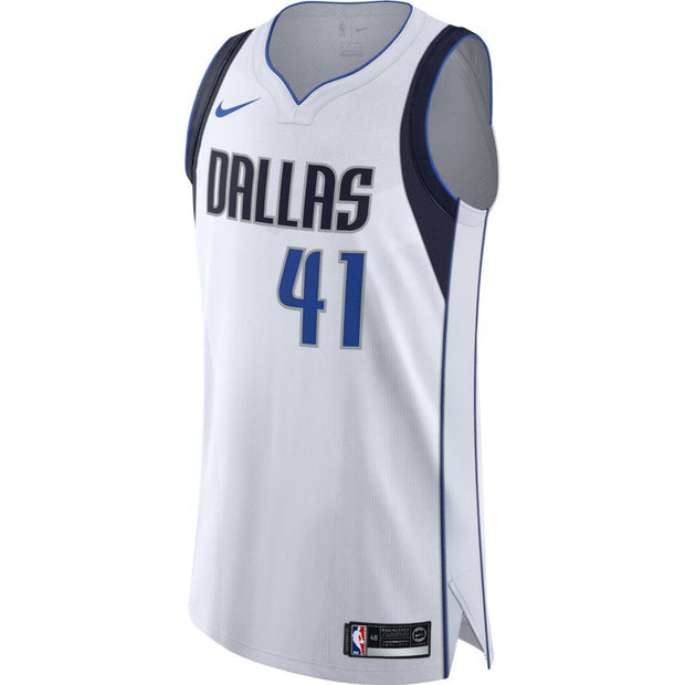 DALLAS MAVERICKS DIRK ASSOCIATION AUTHENTIC JERSEY
