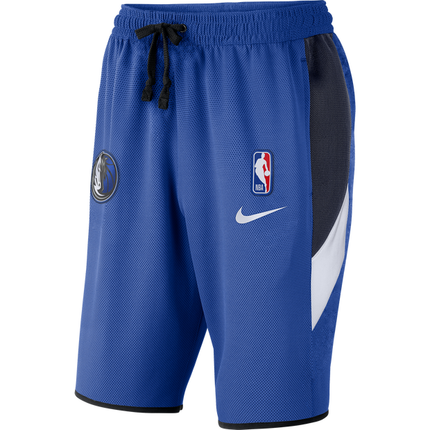 DALLAS MAVERICKS NIKE THERMA FLEX SHOWTIME SHORTS