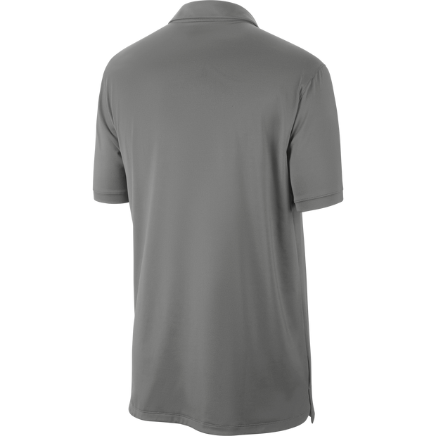 DALLAS MAVERICKS NIKE STATEMENT GRAY POLO