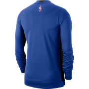 DALLAS MAVERICKS NIKE ON COURT 2019 ROYAL LONG SLEEVE SHOOTER