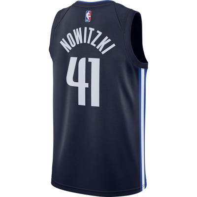 DALLAS MAVERICKS DIRK NOWITZKI STATEMENT SWINGMAN JERSEY