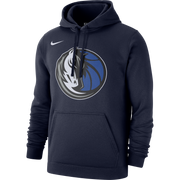 DALLAS MAVERICKS NIKE CLUB FLEECE NAVY HOODIE