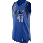 DALLAS MAVERICKS DIRK NOWITZKI NIKE ICON AUTHENTIC JERSEY