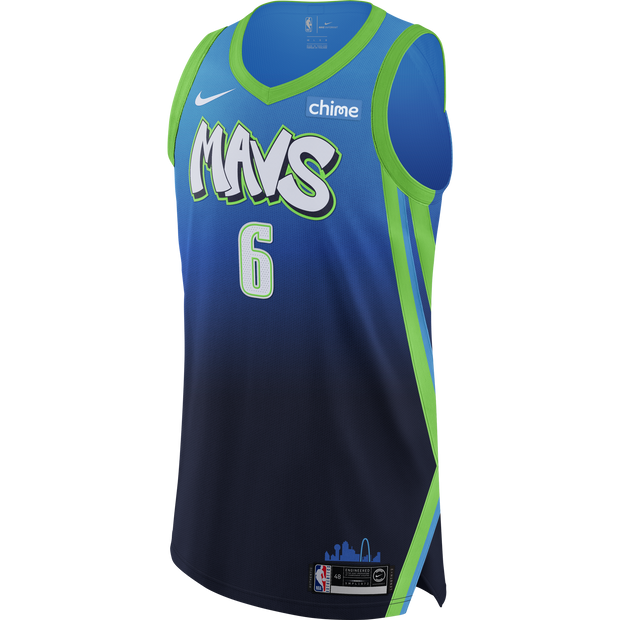 DALLAS MAVERICKS KRISTAPS PORZINGIS CITY EDITION 19-20 AUTHENTIC JERSEY
