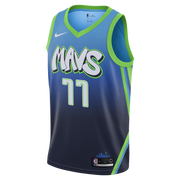 DALLAS MAVERICKS LUKA DONCIC CITY EDITION 19-20 SWINGMAN JERSEY