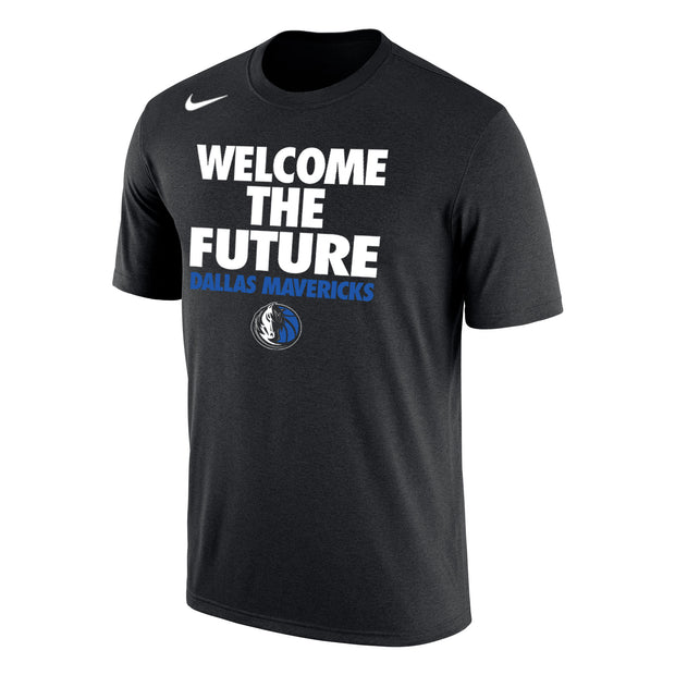 DALLAS MAVERICKS 2018 NIKE WELCOME THE FUTURE TEE