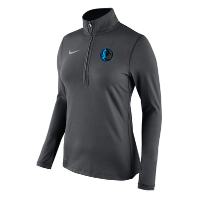 DALLAS MAVERICKS CITY EDITION 2018-2019 WOMENS ELEMENT QTR ZIP TOP