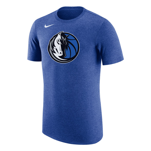 DALLAS MAVERICKS NIKE TRIBLEND SHORT SLEEVE ROYAL TEE