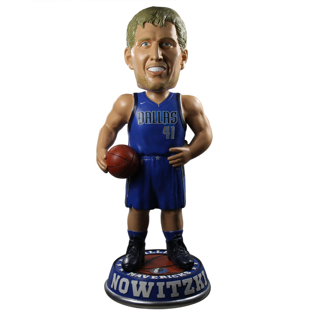 DALLAS MAVERICKS DIRK NOWITZKI 3' ICON BOBBLEHEAD