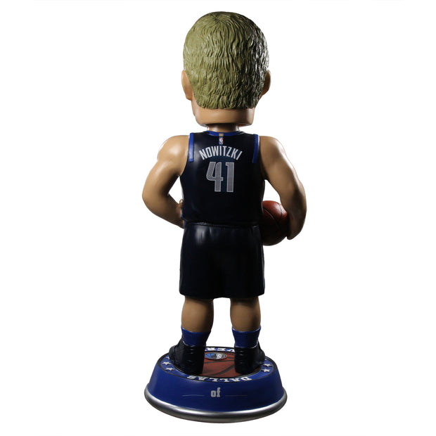 DALLAS MAVERICKS DIRK NOWITZKI 3' STATEMENT SKYLINE BOBBLEHEAD